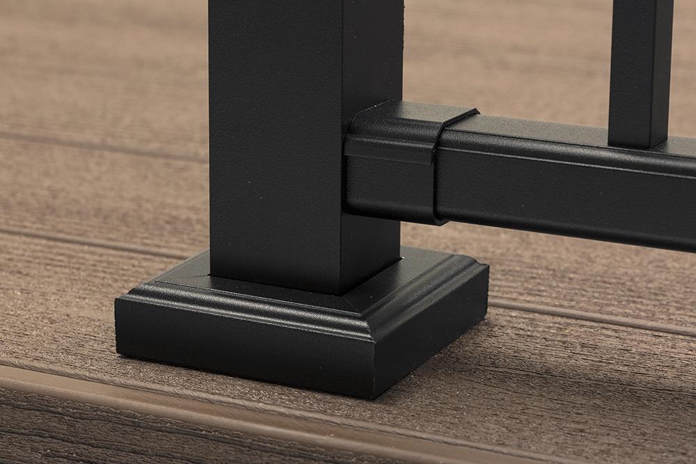 timbertech garde-corps impression rail