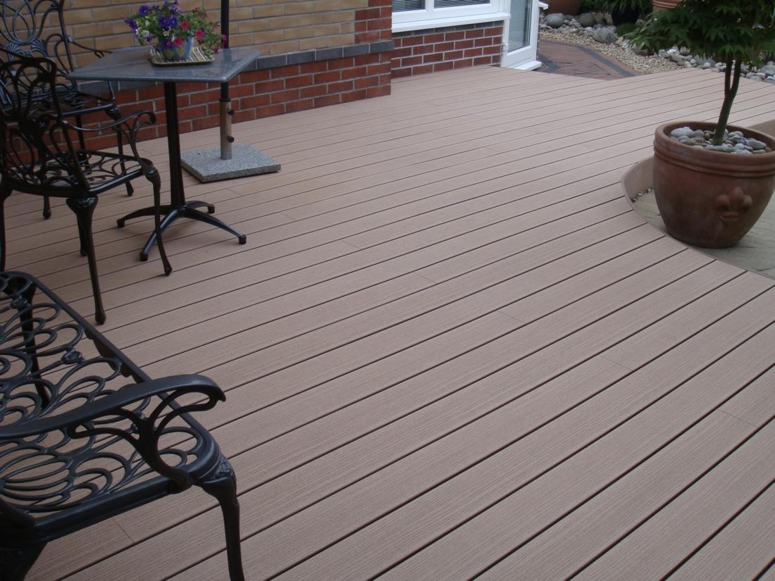 timbertech terrasse reliaboard cedar