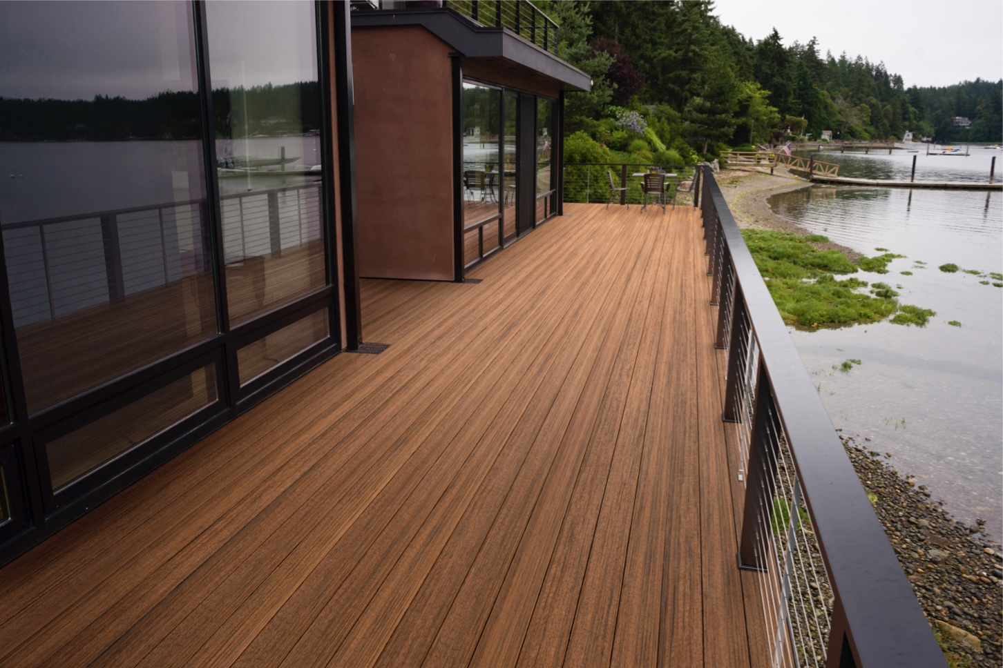 Tropical Decking Collection Composite Decking