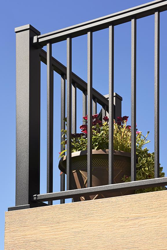Impression Rail Aluminum Deck Railing System | TimberTech Doe