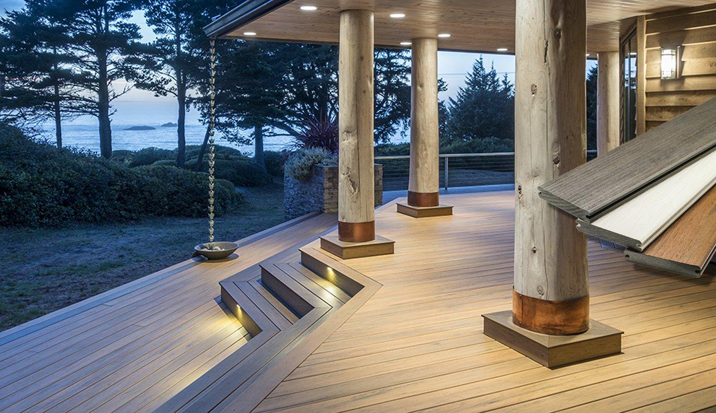 Composite Decking, Railing, Fastening & Lighting