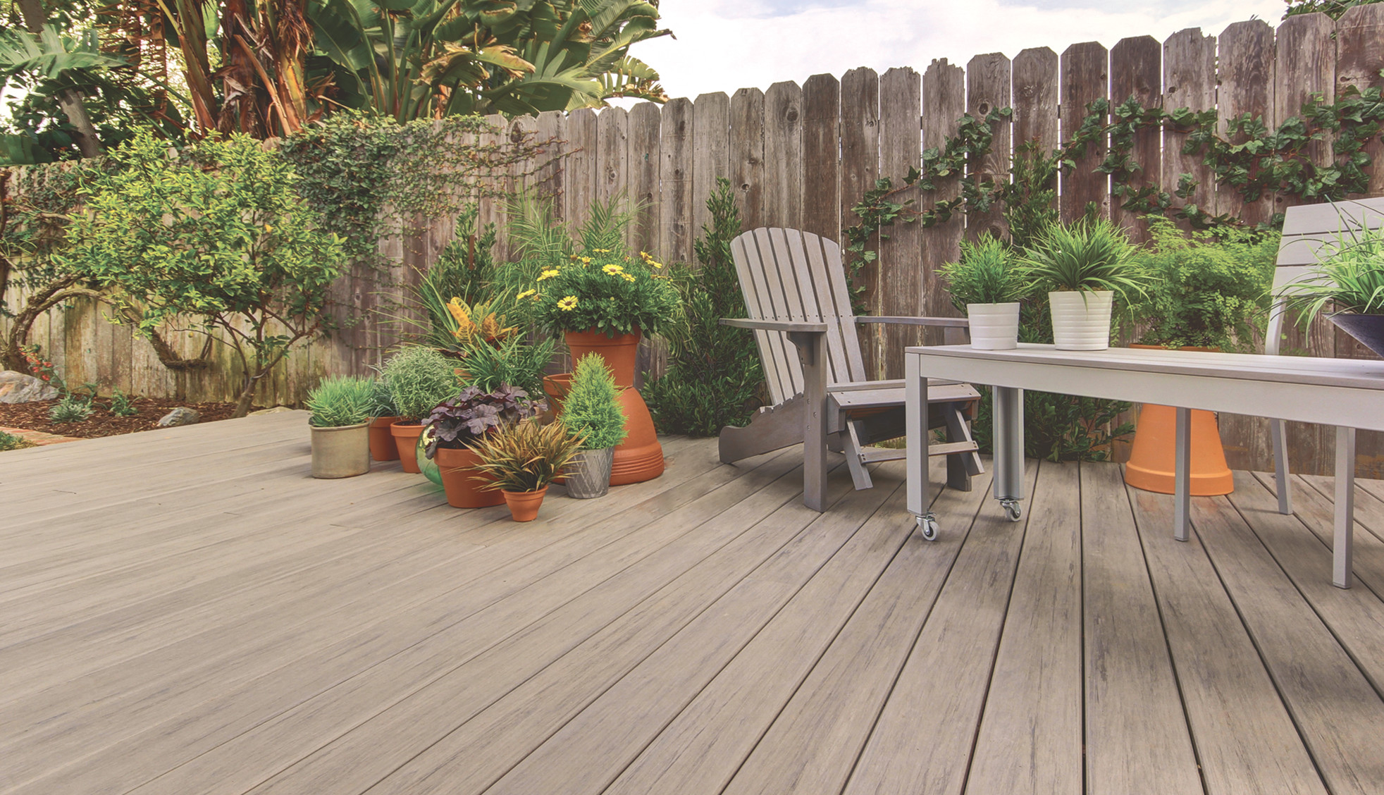ADTG-TimberTech Legacy Decking Collection in Ashwood