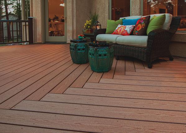 Collection de terrasses ReliaBoard de TimberTech