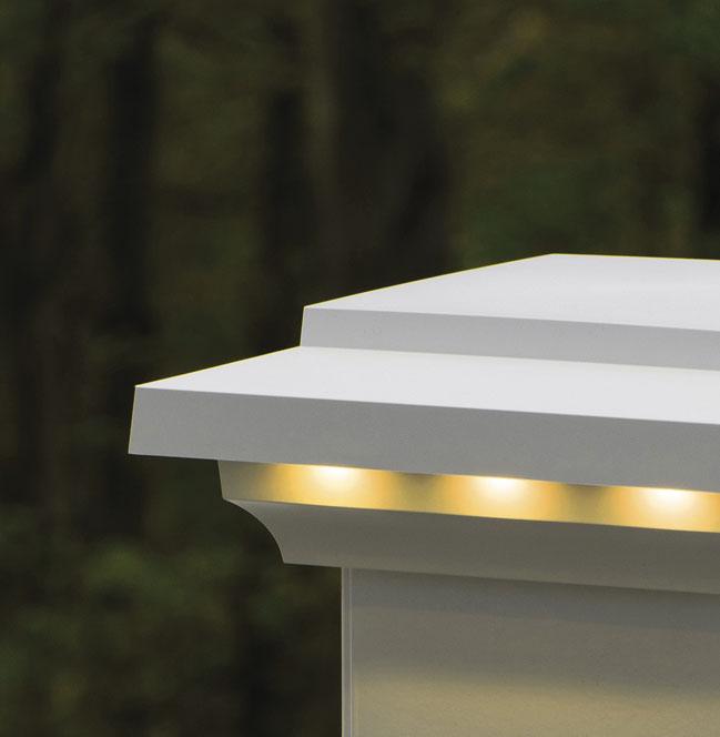 TimberTech Deck Island Lights - View 3