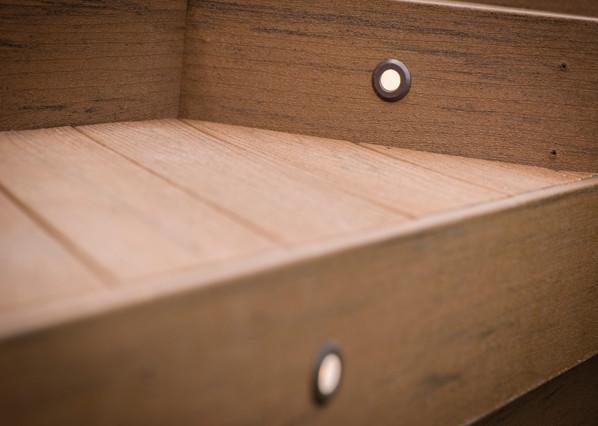 TimberTech Einbauleuchten für Terrassendielen – Ansicht 3