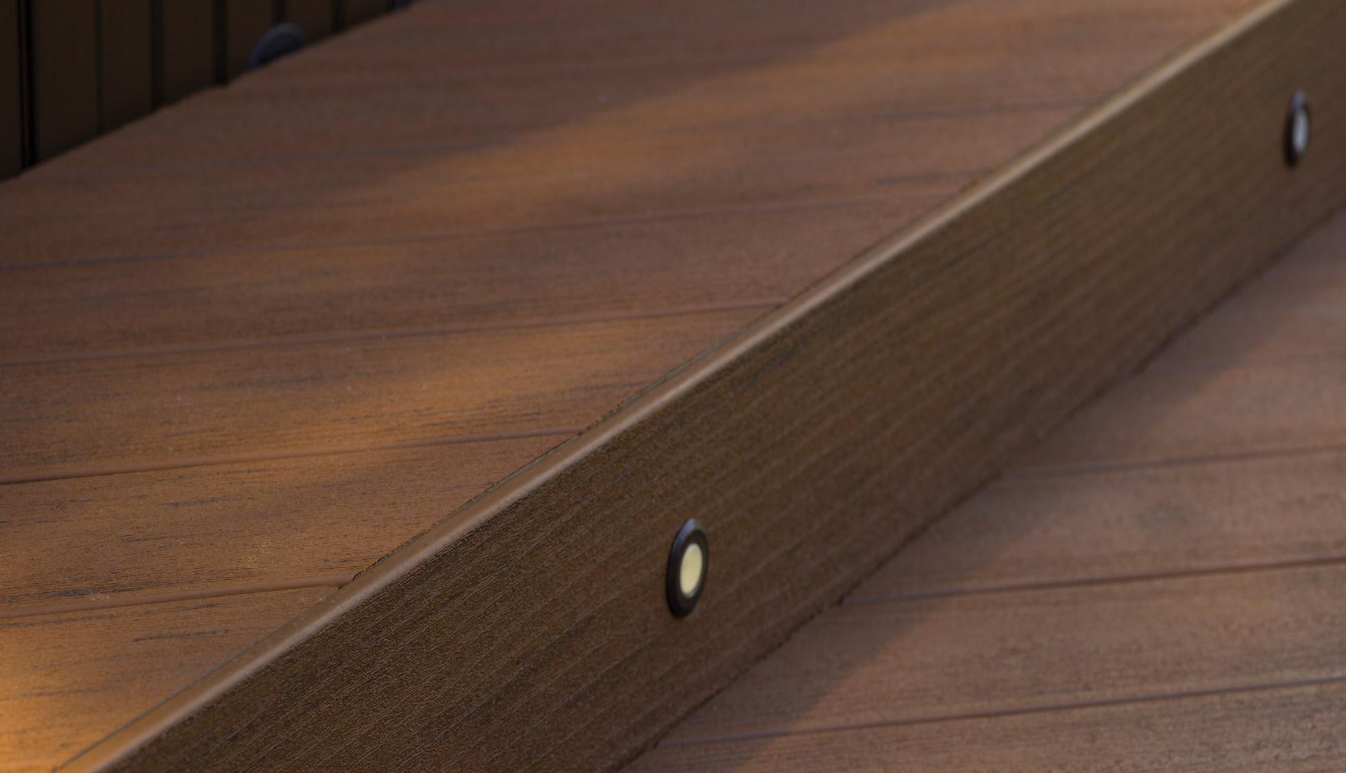TimberTech Einbauleuchten für Terrassendielen – Ansicht 1