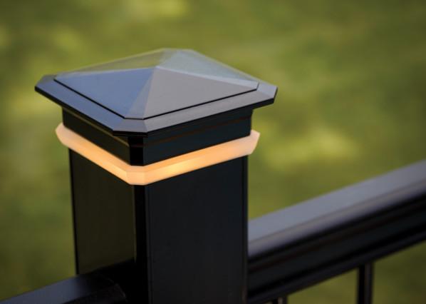 Luces de remate de poste para cubiertas de TimberTech: imagen 3