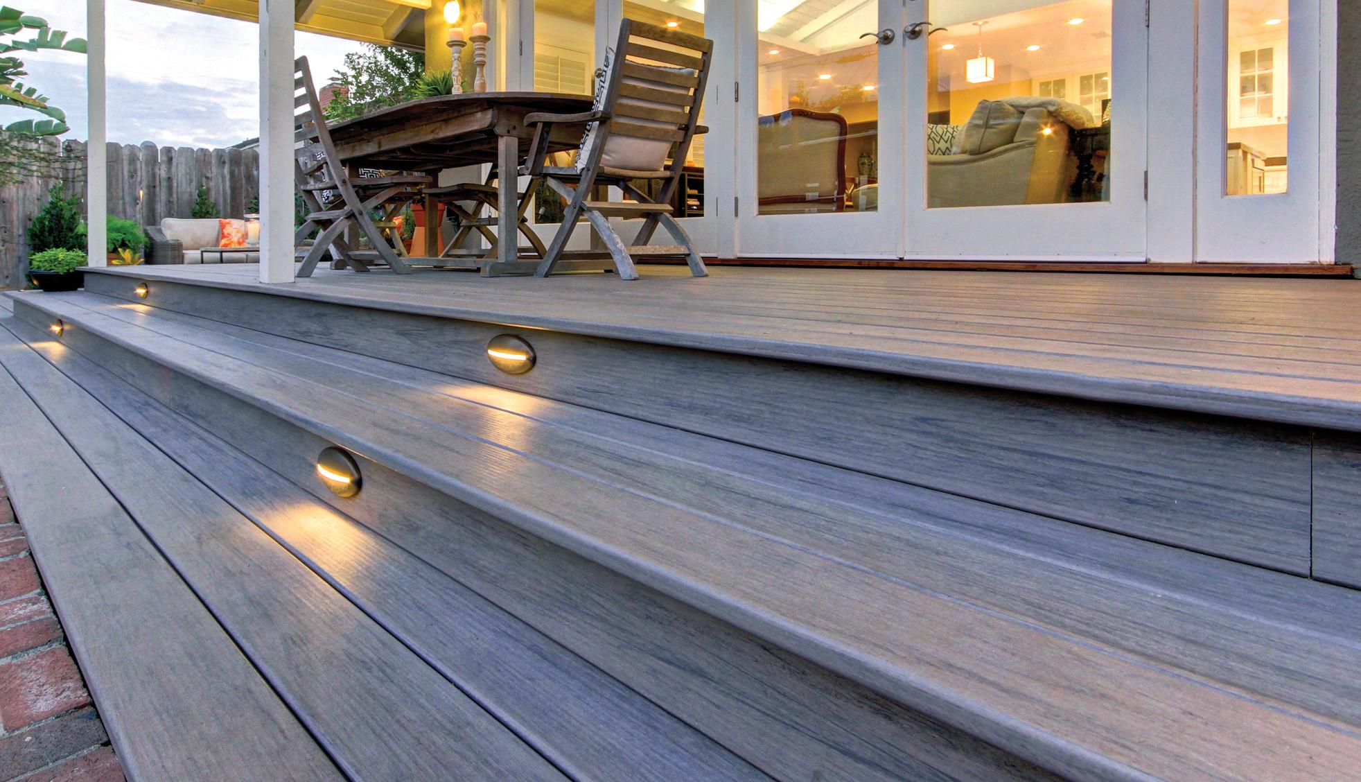 TimberTech Deck Riser Lights - View 1