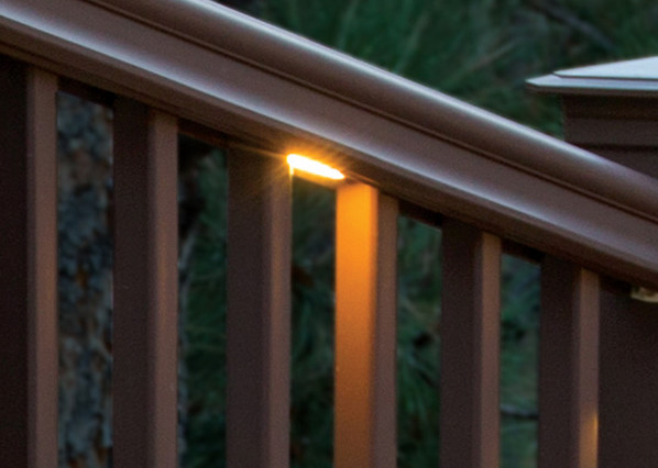 TimberTech Deck Under-Rail Lights - View 3