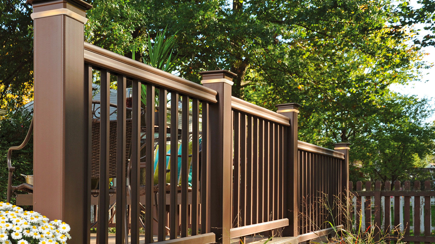 Decking Railing Finishing Products Timbertech Doe