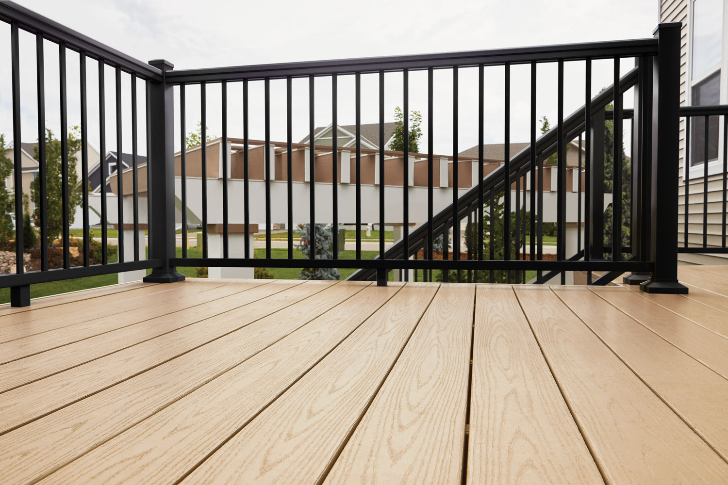 TimberTech Impression Rail Express Railing Collection in Black