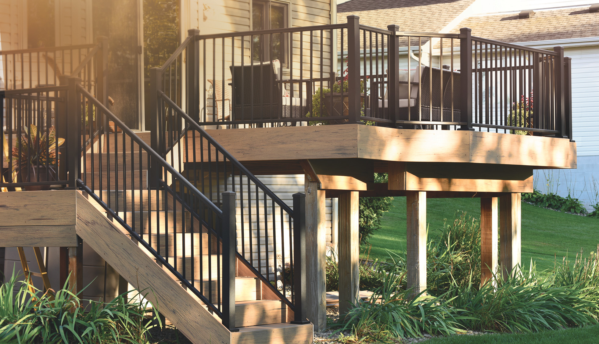 TimberTech Impression Rail Railing Collection in Black