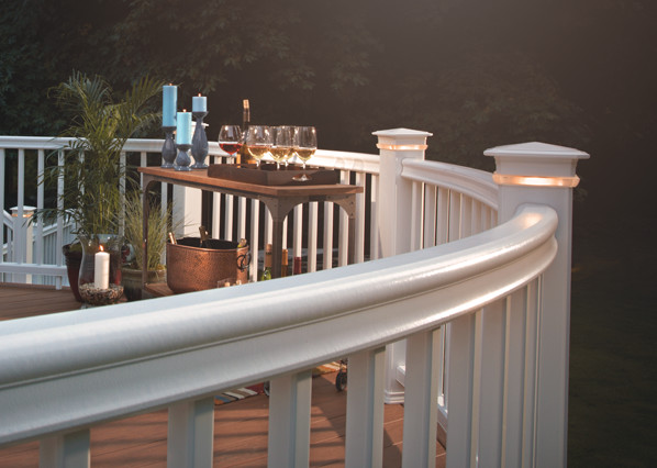 TimberTech RadianceRail Railing Collection in White