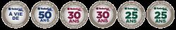 50 ans de garantie