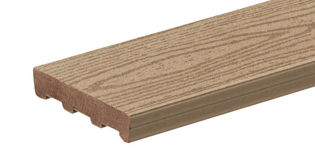 Collection de terrasses ReliaBoard de couleur Cedar
