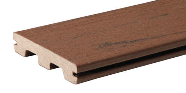 Collection de terrasses Terrain de couleur Brown Oak