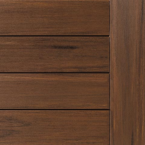 AZEK vintage Mahogany Decking Collection
