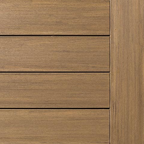 AZEK vintage Weathered Teak Decking Collection
