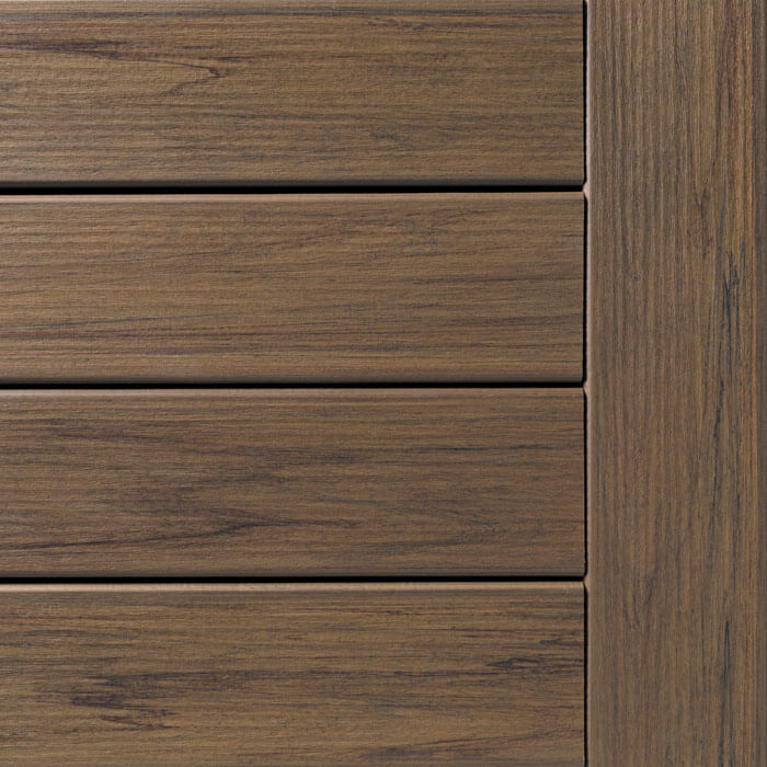 Pecan Legacy Decking Collection