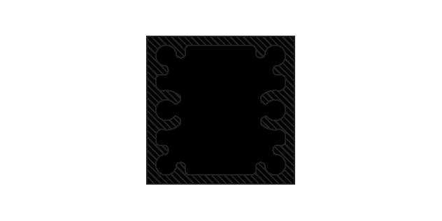 Poteau 5,08 cm x 5,08 cm (2